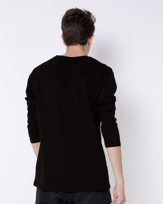 Shop Minimal Mahakal Full Sleeve T-Shirt-Full