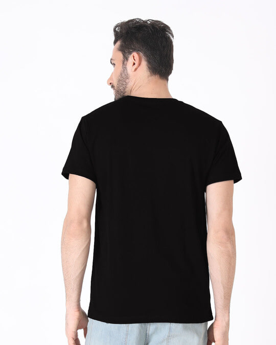 Shop Minimal Mahakal Half Sleeve T-Shirt-Full