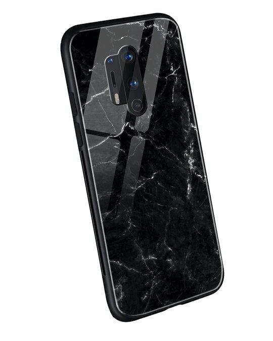 Shop Minimal Marble OnePlus 8 Pro Mobile Cover-Back