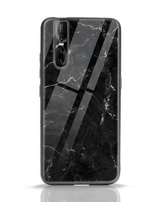 Shop Minimal Marble Vivo V15 Pro Glass Mobile Cover-Front