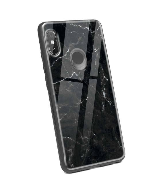 Shop Minimal Marble Xiaomi Redmi Note 5 Pro Glass Mobile Cover-Back