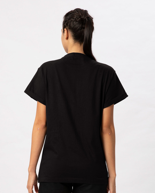 Shop Minimal Meow Boyfriend T-Shirt-Full