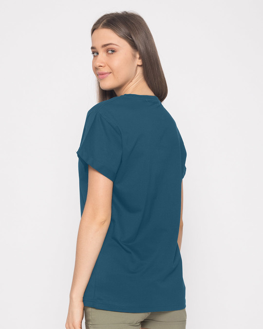 Shop Minimal Meow Boyfriend T-Shirt-Back