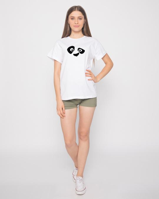 Shop Minimal Panda Boyfriend T-Shirt
