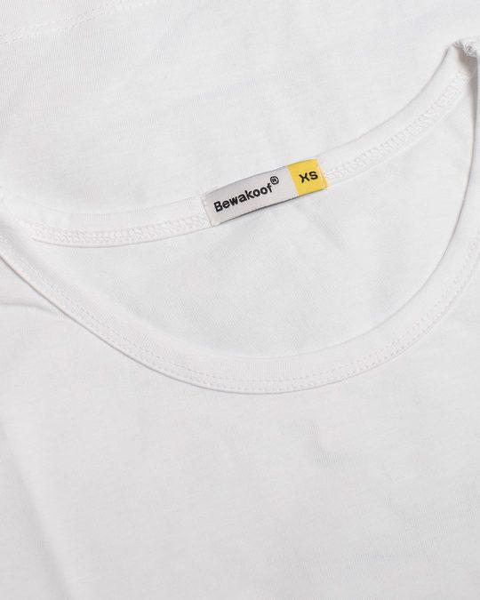 Shop Minimal Panda Round Neck 3/4th Sleeve T-Shirt