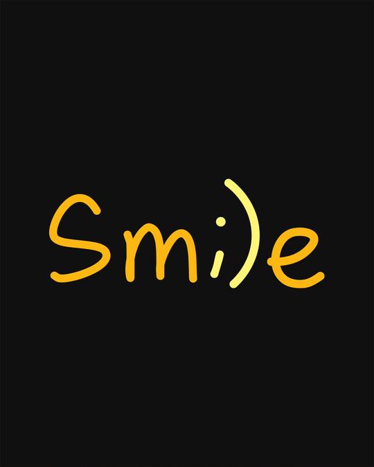 Shop Minimal Smile Sweatshirt-Full