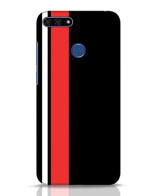 Shop Minimal Stripes Huawei Honor 7A Mobile Cover-Front