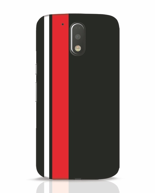 Shop Minimal Stripes Moto G4 Plus Mobile Cover-Front