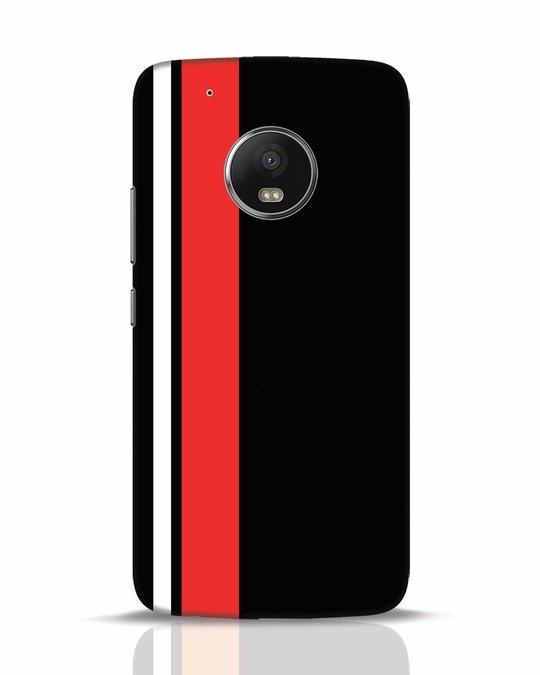 Shop Minimal Stripes Moto G5 Plus Mobile Cover-Front