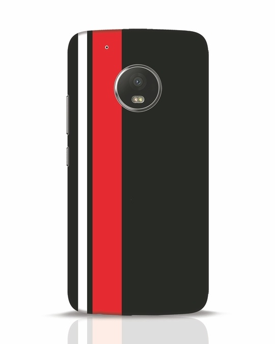 Shop Minimal Stripes Moto G5 Plus Mobile Cover-Front