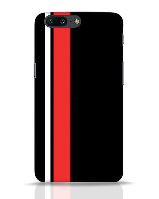 Shop Minimal Stripes OnePlus 5 Mobile Cover-Front