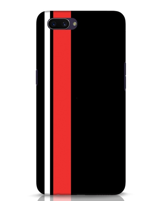 Shop Minimal Stripes Oppo A3S Mobile Cover-Front