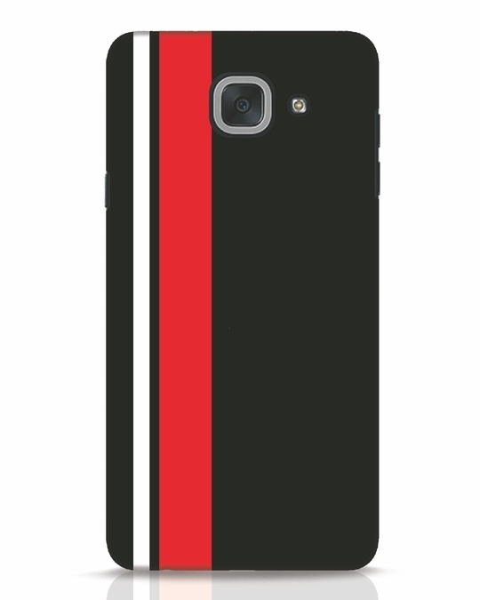 Shop Minimal Stripes Samsung Galaxy J7 Max Mobile Cover-Front