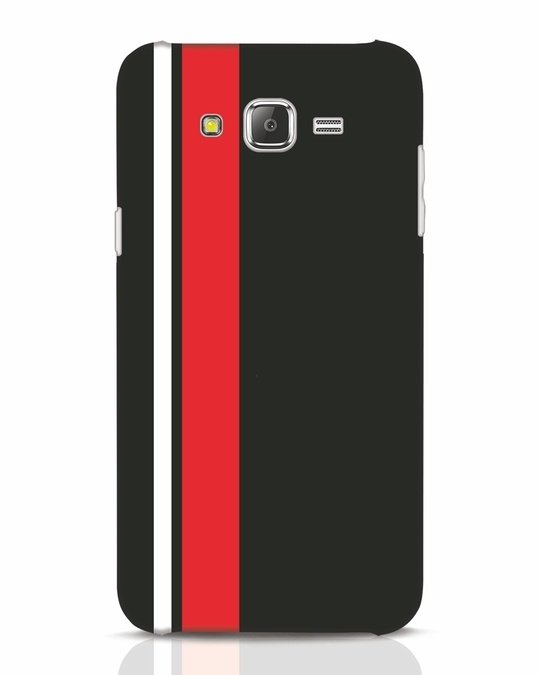 Shop Minimal Stripes Samsung Galaxy J7 Mobile Cover-Front