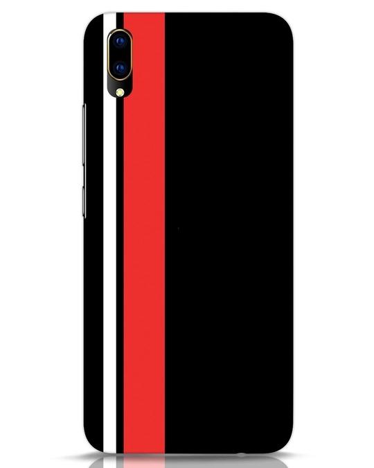 Shop Minimal Stripes Vivo V11 Pro Mobile Cover-Front