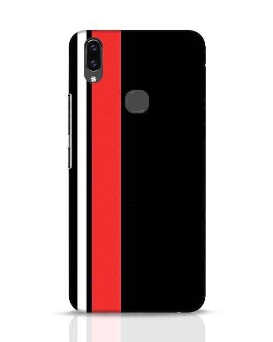 Shop Minimal Stripes Vivo V9 Mobile Cover-Front