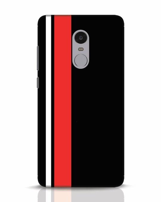 Shop Minimal Stripes Xiaomi Redmi Note 4 Mobile Cover-Front