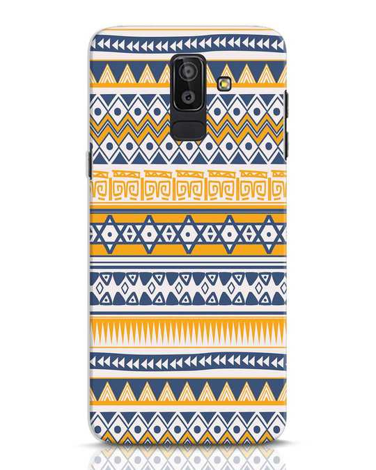 Shop Minimal Tribal Samsung Galaxy J8 Mobile Cover-Front