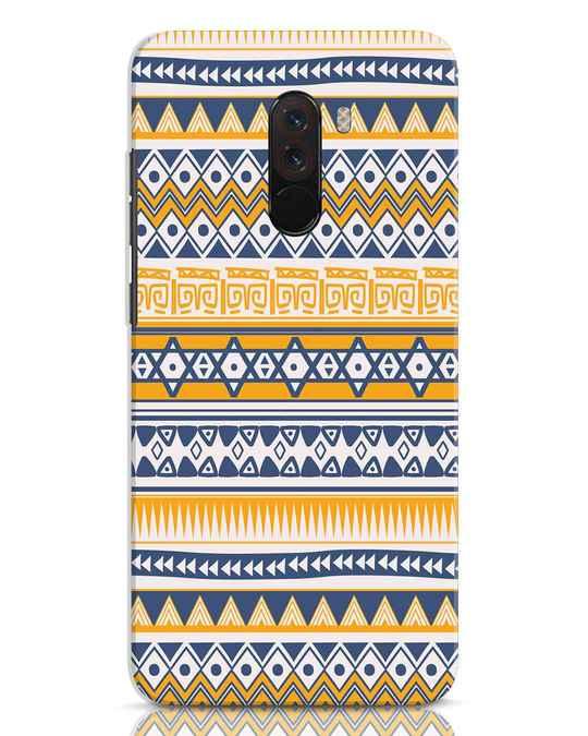 Shop Minimal Tribal Xiaomi POCO F1 Mobile Cover-Front
