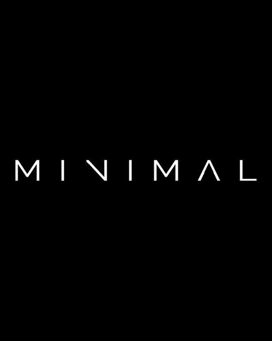 Shop Minimal Unisex Half T Shirt-Design