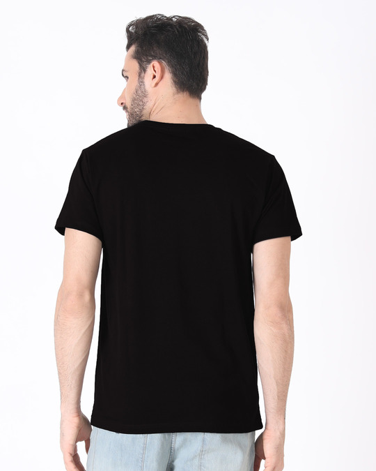 Shop Minimal V Half Sleeve T-Shirt