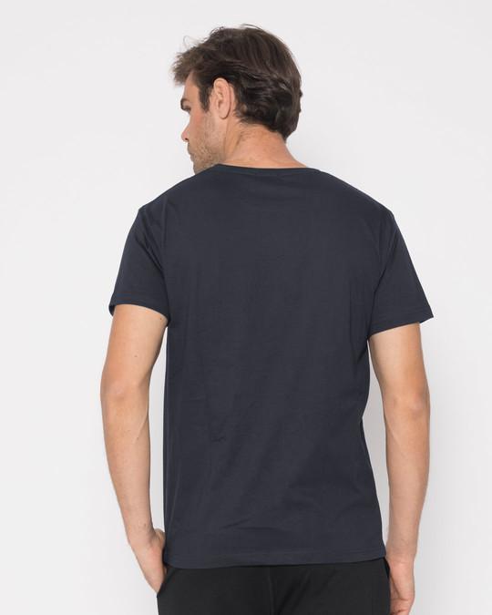Shop Minimal V Half Sleeve T-Shirt