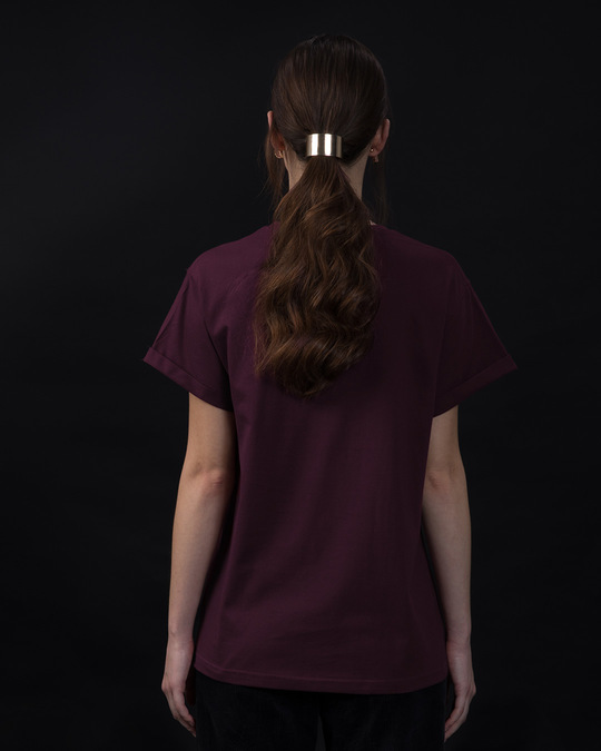 Shop Minimal Wild Boyfriend T-Shirt-Back