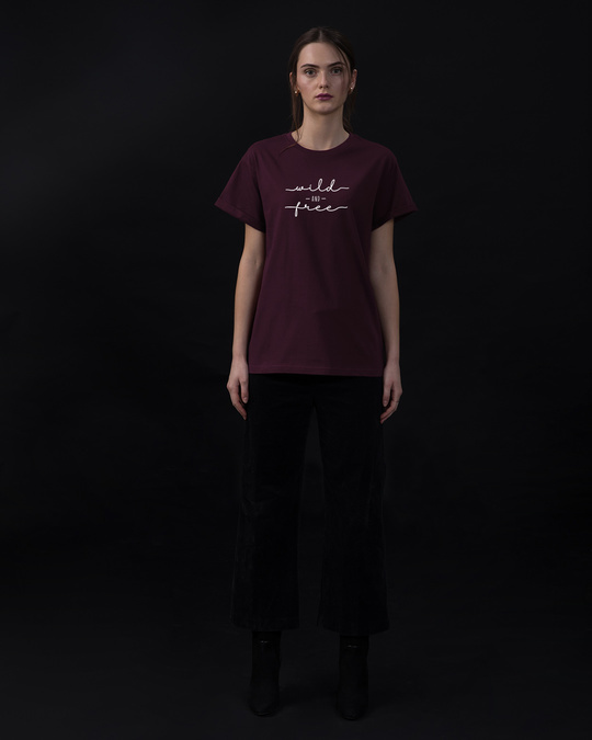 Shop Minimal Wild Boyfriend T-Shirt-Full