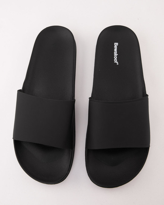 Shop Minimalistic Black Sliders-Back