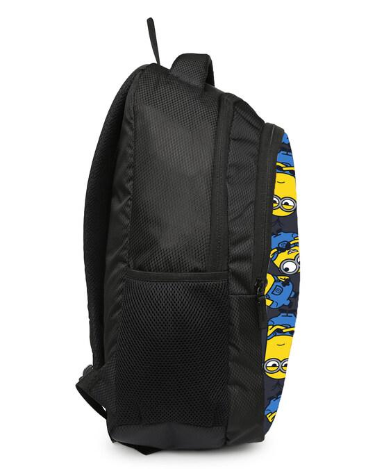 Shop Minion Smirk Printed 23 Litre Backpack-Back