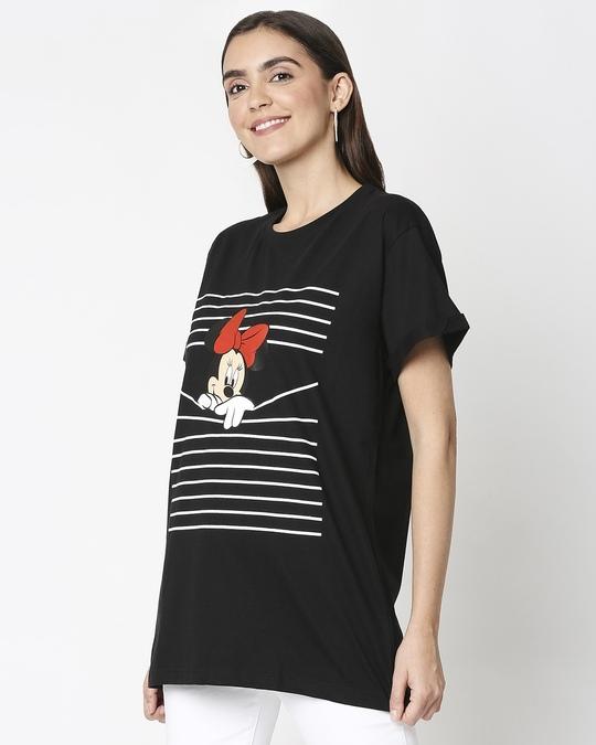 Shop Minnie Boyfriend T-shirt (DL) -Design