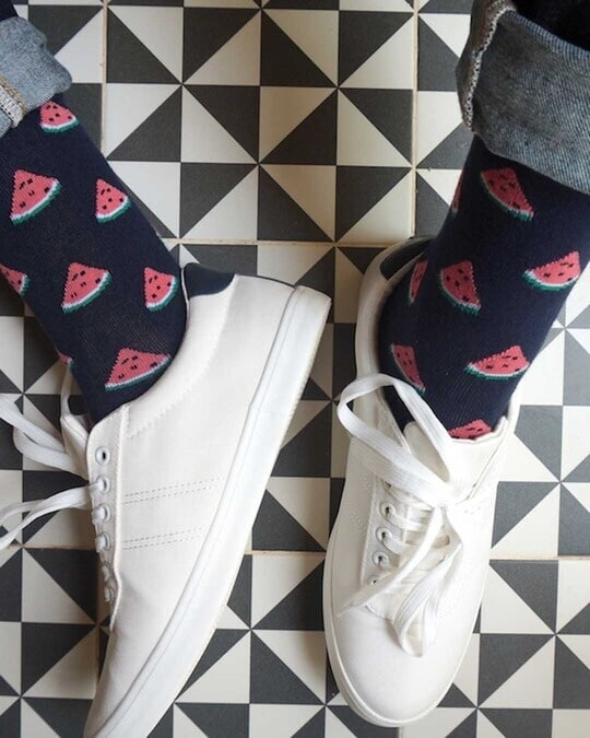 Shop Mint & Oak Gift box of 3 Socks - OH YUM