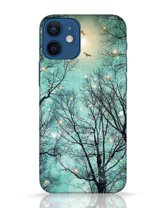 Shop Mint Embers iPhone 12 Mini Mobile Cover-Front