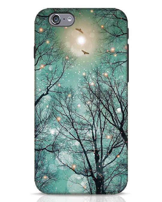 Shop Mint Embers iPhone 6 Mobile Cover-Front