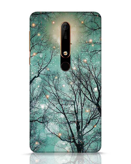 Shop Mint Embers Nokia 6.1 Mobile Cover-Front