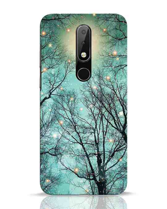 Shop Mint Embers Nokia 6.1 Plus Mobile Cover-Front