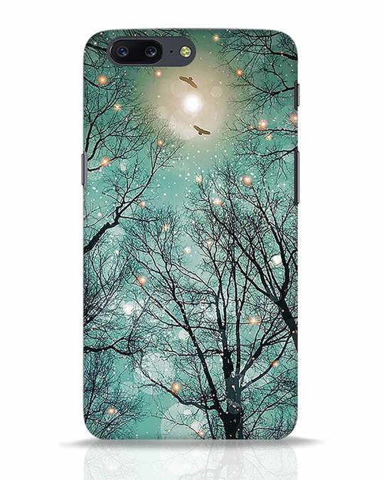 Shop Mint Embers OnePlus 5 Mobile Cover-Front