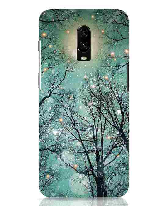 Shop Mint Embers OnePlus 6T Mobile Cover-Front