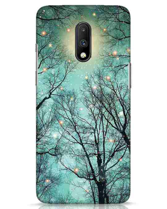 Shop Mint Embers OnePlus 7 Mobile Cover-Front