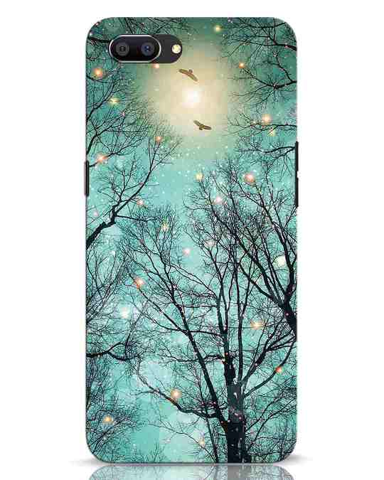 Shop Mint Embers Realme C1 Mobile Cover-Front