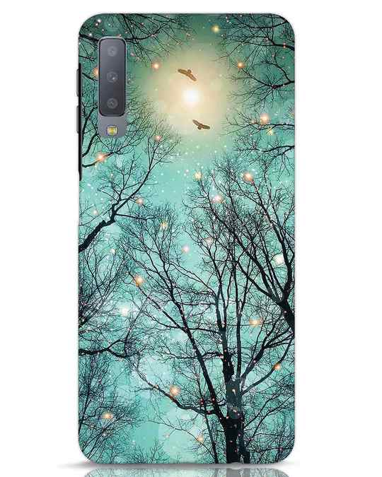 Shop Mint Embers Samsung Galaxy A7 Mobile Cover-Front