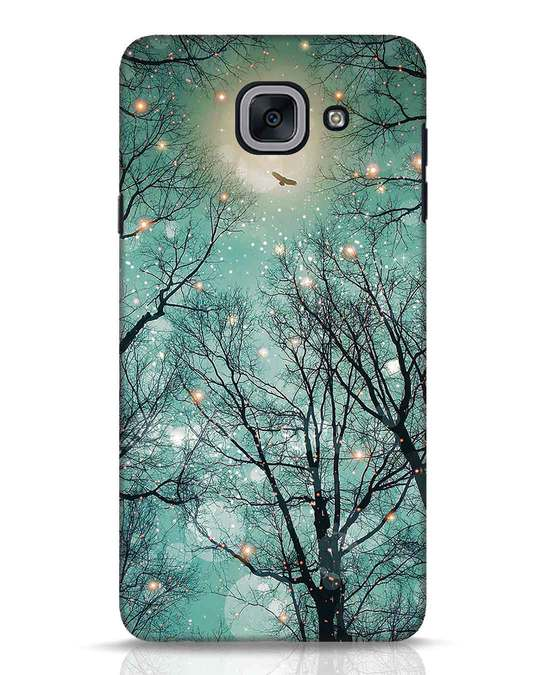 Shop Mint Embers Samsung Galaxy J7 Max Mobile Cover-Front