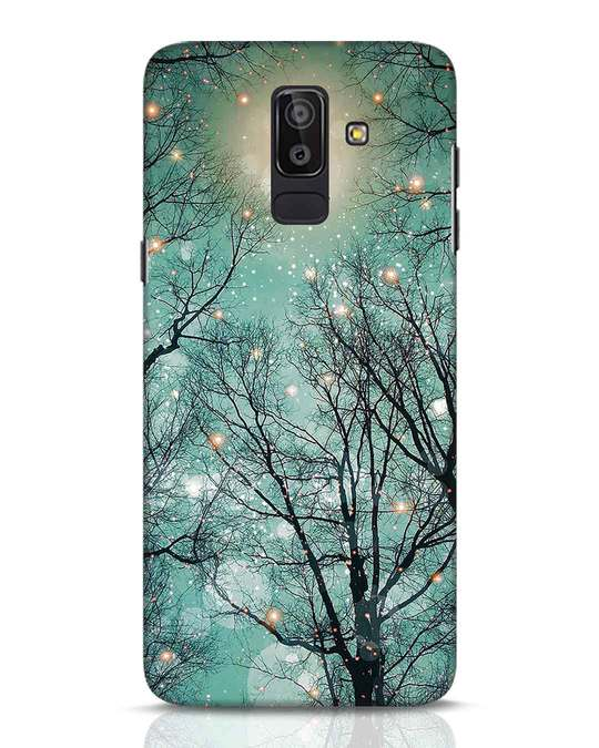 Shop Mint Embers Samsung Galaxy J8 Mobile Cover-Front