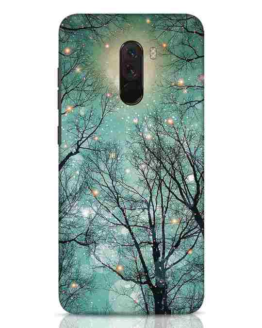 Shop Mint Embers Xiaomi POCO F1 Mobile Cover-Front