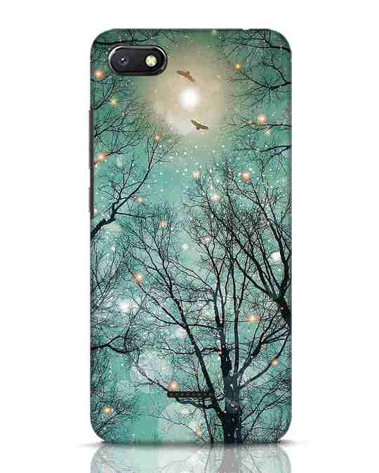 Shop Mint Embers Xiaomi Redmi 6A Mobile Cover-Front