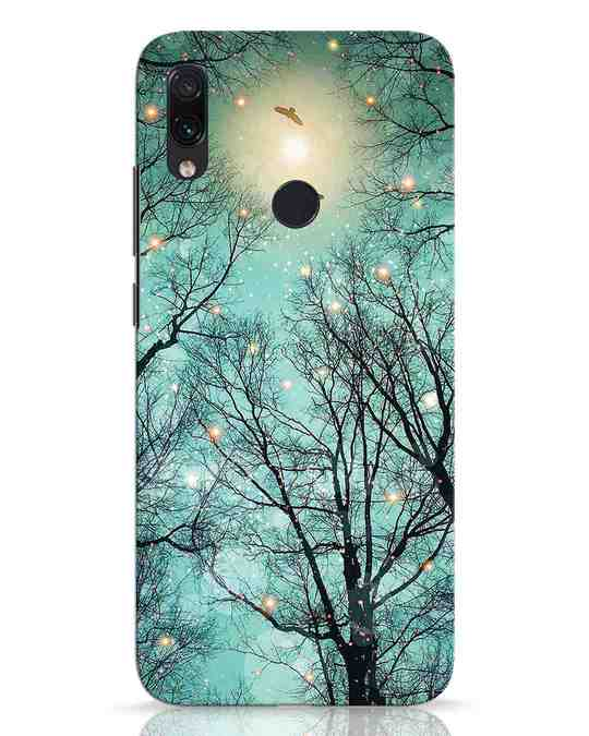 Shop Mint Embers Xiaomi Redmi Note 7 Mobile Cover-Front