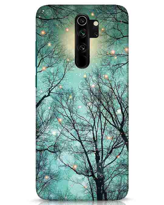 Shop Mint Embers Xiaomi Redmi Note 8 Pro Mobile Cover-Front