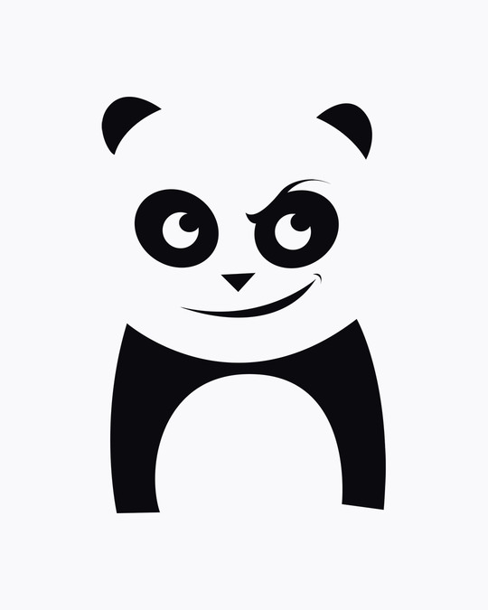 Shop Mischief Panda Boyfriend T-Shirt