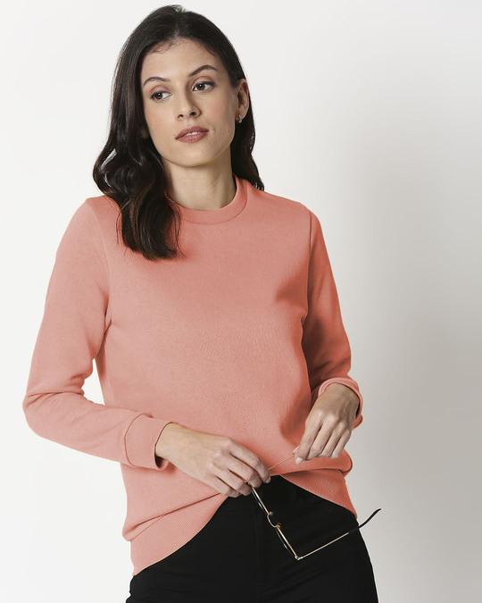 Shop Misty Pink Fleece Sweater