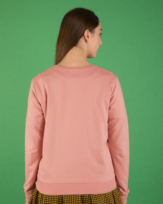 Shop Misty Pink Fleece Sweater-Design